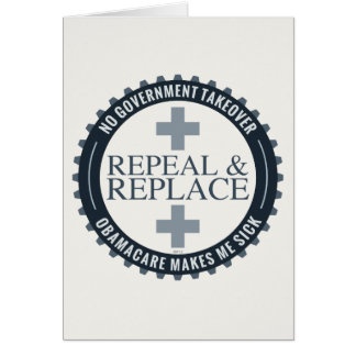No Government Takeover Greeting Card
