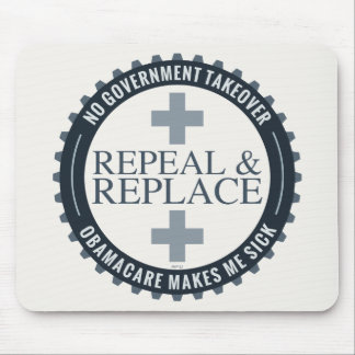 No Government Takeover Mouse Pad