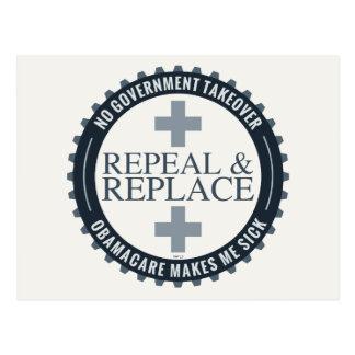 No Government Takeover Postcard