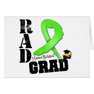 No graduado del RAD de la radioterapia del linfoma Tarjeta De Felicitación