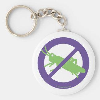 No Grasshoppers - Keychain