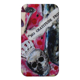 """""""No gratitude for the wicked"""" iPhone 4/4S Covers"""