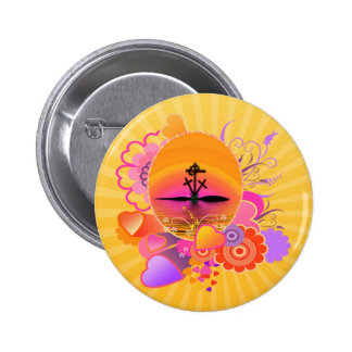 No Greater Love 2 Inch Round Button