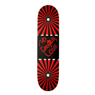 No Greater Love Christian Skateboard Deck