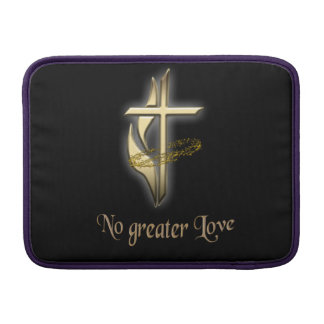 No greater Love Cross Sleeve For MacBook Air