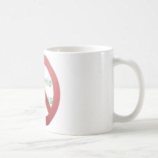 No Greenie Weenies Classic White Coffee Mug