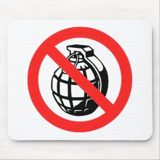 No Grenades Mouse Pad