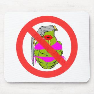 No Grenades Mousepad