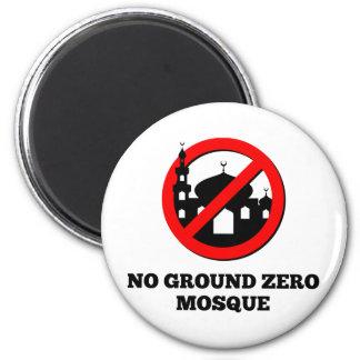 No Ground Zero Mosque 2 Inch Round Magnet