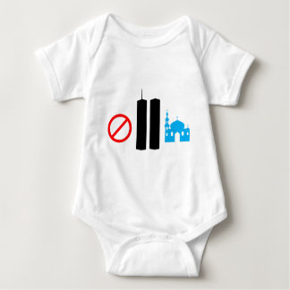 No Ground Zero Mosque Baby Bodysuit