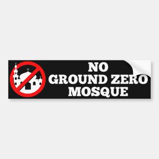 No Ground Zero Mosque Bumper Sticker