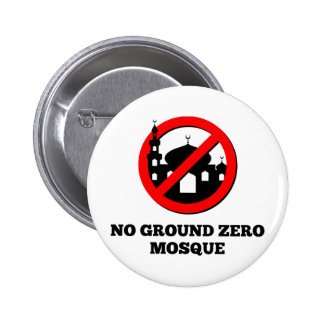 No Ground Zero Mosque Button