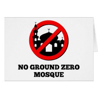 No Ground Zero Mosque Card
