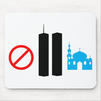 No Ground Zero Mosque Mouse Pad