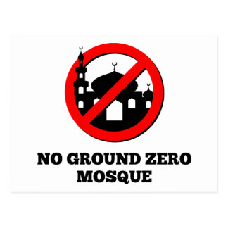 No Ground Zero Mosque Postcard