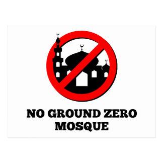 No Ground Zero Mosque Postcard