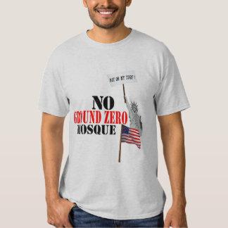 No Ground Zero Mosque  T Shirt