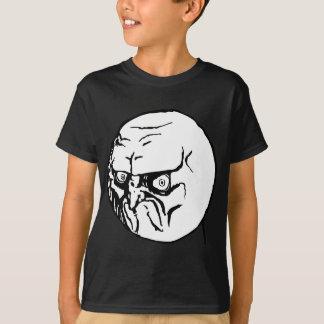 No. Grumpy Internet Meme T-Shirt