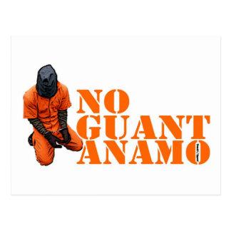 No Guantanamo Postcard