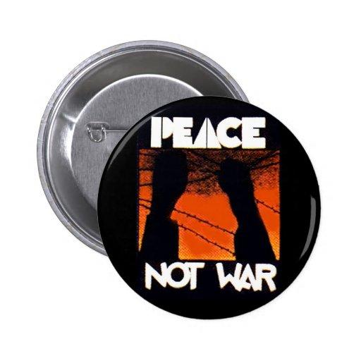No guerra - botón pins