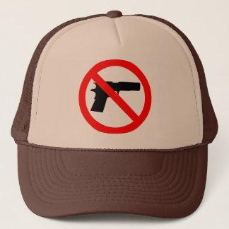 No Guns Anti Gun Trucker Hat