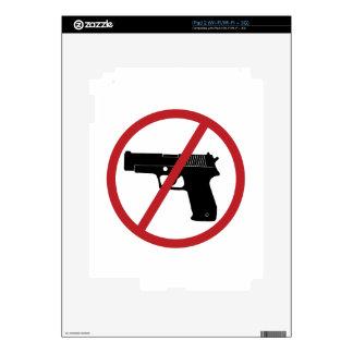 No Guns iPad 2 Decals