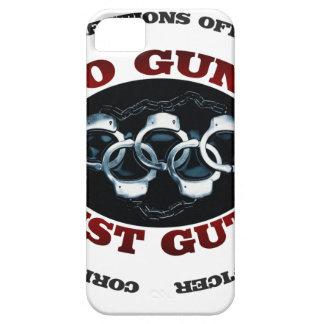 No Guns Just Guts iPhone SE/5/5s Case