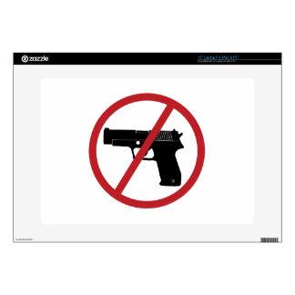 No Guns Laptop Skins