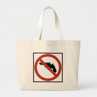No Guns Permitted Highway Sign Bags