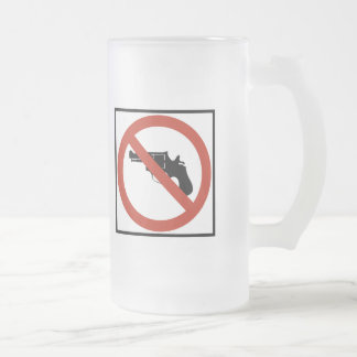 No Guns Permitted Highway Sign Coffee Mugs
