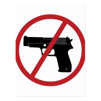 No Guns Postcard