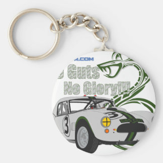 No guts No glory- cobra Keychain