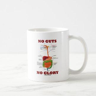 No Guts No Glory (Digestive System Anatomy Humor) Coffee Mug