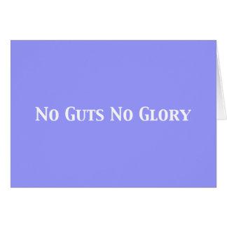 No Guts No Glory Gifts Card