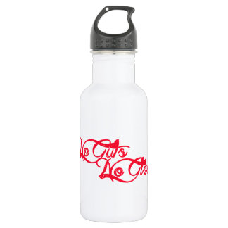 No Guts, No Glory Stainless Steel Water Bottle