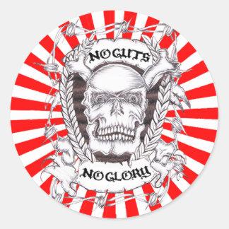 no guts no glory stickers