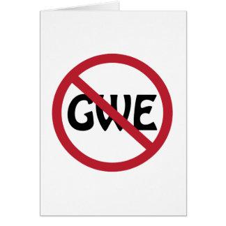No GWE Card
