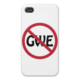 No GWE Case For iPhone 4