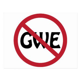 No GWE Postcard