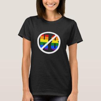 No H8 Womens Black T-Shirt
