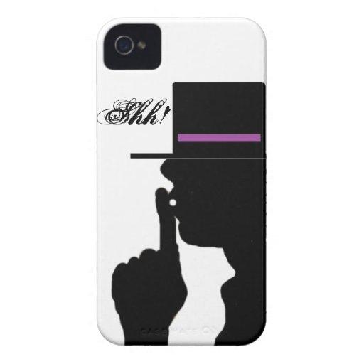 No hable la caja de Blackberry iPhone 4 Carcasa