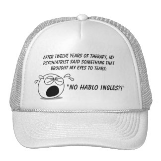No Hablo Ingles Trucker Hat