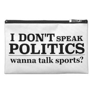 No hablo política quiero hablar deportes
