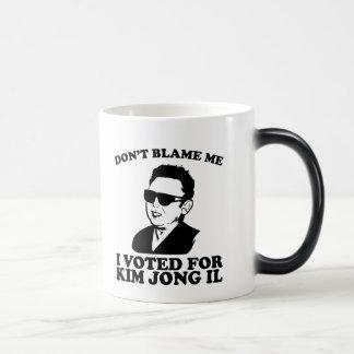 No hace Blam yo, yo votó por la taza de Kim Jong