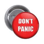 No hace el botón de pánico pins