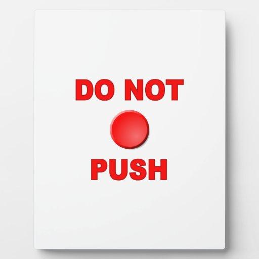 No hace el botón placas con fotos