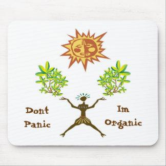 No hace el pánico Im orgánico Tapetes De Ratón