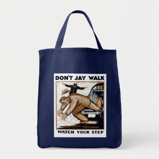 No hace el paseo de Jay Bolsas De Mano