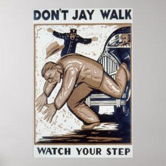 No hace el paseo de Jay, mirar su paso Poster