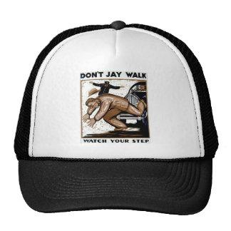 ¡No hace el paseo de Jay - mire su paso! Gorros
